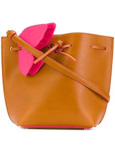 сумка-ведро с декором в виде бабочки Sophia Webster