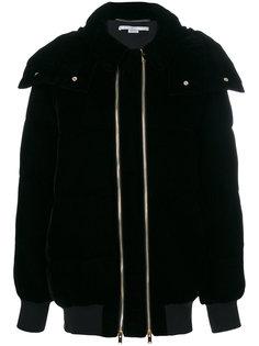 дутая куртка с двойной молнией Stella McCartney