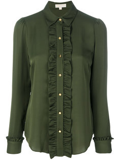 рубашка с оборками Michael Michael Kors