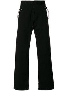 брюки с карманами на молниях Maison Margiela