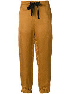 брюки с лентой Ann Demeulemeester