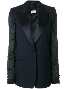пиджак с текстурными рукавами Maison Margiela
