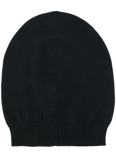 шапка-бини с ребристой фактурой Rick Owens