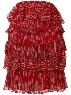 многослойная юбка Canwood с принтом  Iro