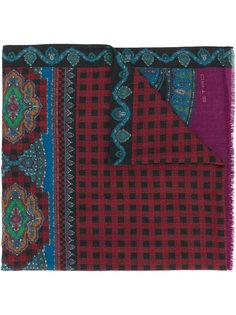 шарф с рисунком пейсли Etro