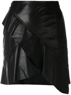 асимметричная юбка с рюшами Oyama  Iro