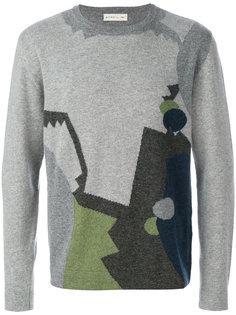 вязаный свитер с геометрическим принтом Etro