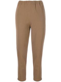 брюки с эластичным поясом Marni
