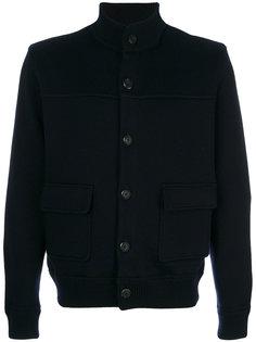 трикотажная куртка на пуговицах Salvatore Ferragamo