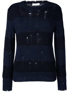 свитер Tys в полоску с эффектом потертости Iro