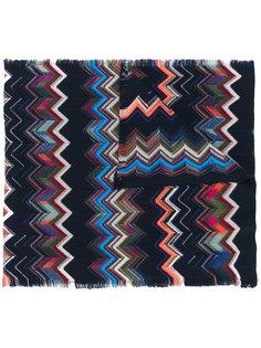 шарф с узором Missoni