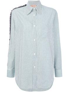 рубашка с панелями с бусинами Nº21