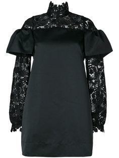 платье с кружевными вставками Nº21