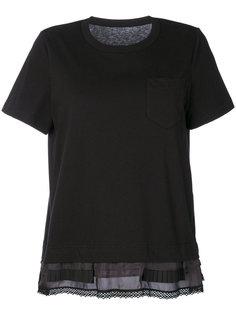 блузка с отделкой из лент Sacai