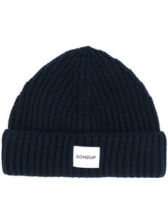 вязаная шапка с логотипом Dondup
