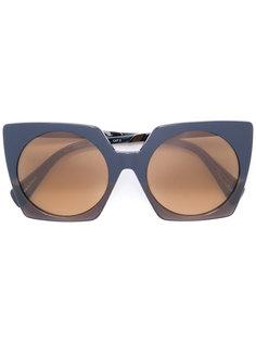 объемные солнцезащитные очки Yohji Yamamoto
