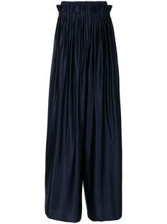 широкие плиссированные брюки  Maison Margiela