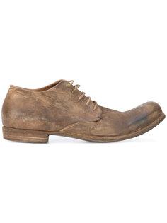 ботинки-дерби с эффектом поношенности A Diciannoveventitre