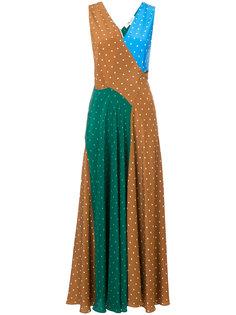 платье без рукавов с узором в горох Dvf Diane Von Furstenberg