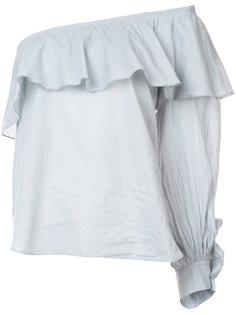 блузка с открытыми плечами Apiece Apart
