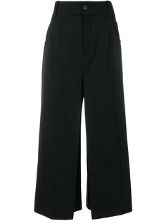 укороченные брюки-палаццо  Chloé