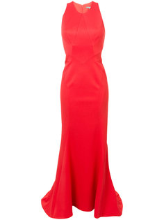 вечернее платье со шлейфом Zac Posen