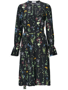платье миди с цветочным узором Altuzarra