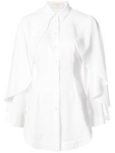 рубашка в стиле накидки Sara Battaglia