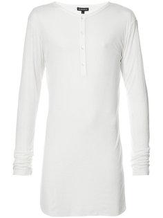 объемная футболка хенли Ann Demeulemeester