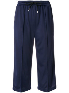 укороченные брюки на шнурке  MSGM