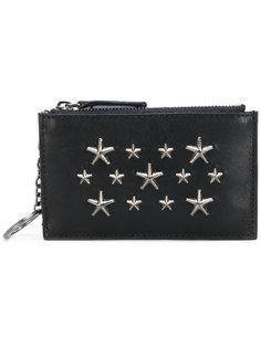 кошелек с заклепками в виде звезд Jimmy Choo