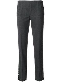 брюки с отделкой заклепками P.A.R.O.S.H.