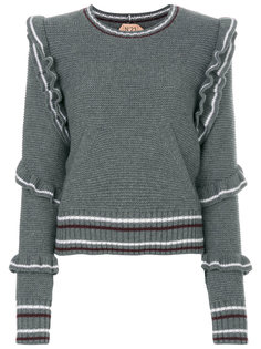 свитер с оборками  Nº21