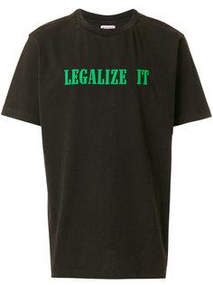 футболка Legalize It Palm Angels