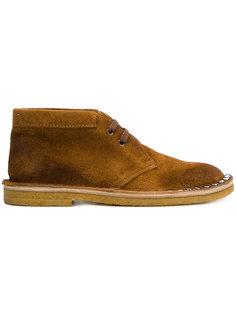 классические туфли со шнуровкой Prada