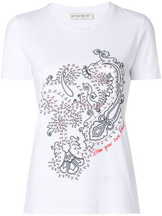 футболка с принтом пейсли  Etro