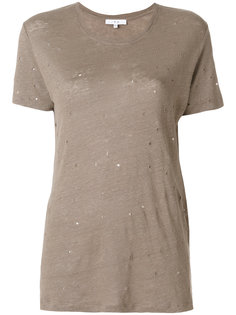 футболка Clay с рваными деталями Iro