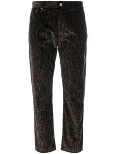 прямые укороченные брюки  Mm6 Maison Margiela
