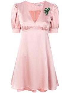 платье с брошкой Vivetta