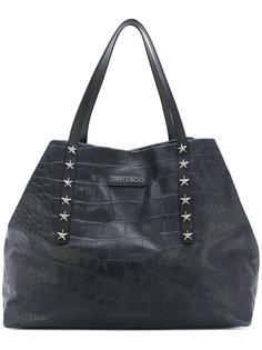 текстурная сумка-тоут Jimmy Choo
