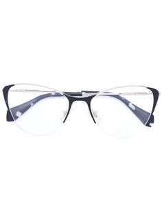 классическая квадратная оправа для очков Miu Miu Eyewear