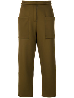 укороченные классические брюки By Malene Birger