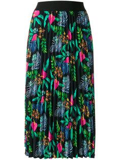 плиссированная юбка с вышивкой Essentiel Antwerp