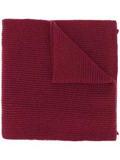 вязаный шарф в рубчик Canali