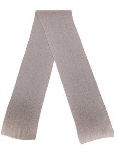 шарф в рубчик Canali