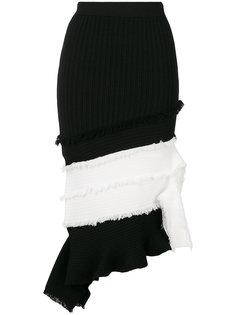 мини-юбка с рубчик  Jonathan Simkhai
