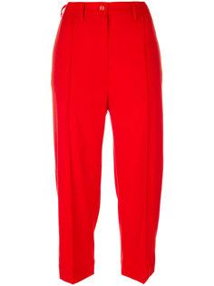 укороченные строгие брюки  Mm6 Maison Margiela