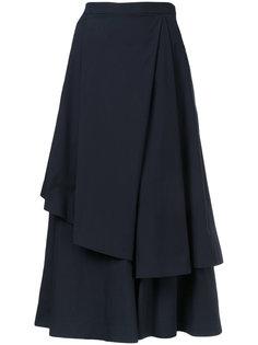 многослойная юбка длины миди Enföld