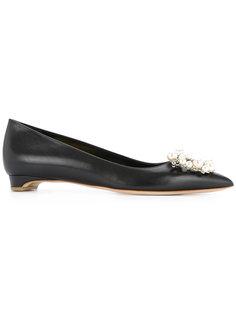 туфли-лодочки с украшением из жемчуга Rupert Sanderson