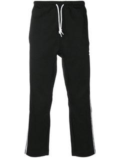 спортивные брюки с полосками по бокам Adidas